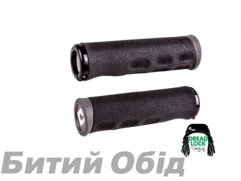 Грипсы ODI Tinker Juarez Dread Lock Grip Black w/Black clamp (черные с черными замками)
