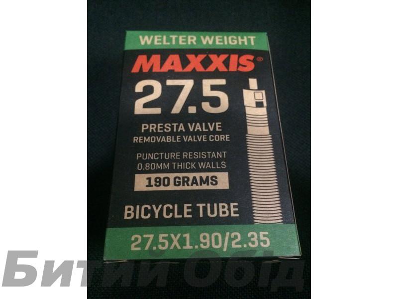 Камера Maxxis 27.5x1.95/2.35 Welter Weight (Presta)