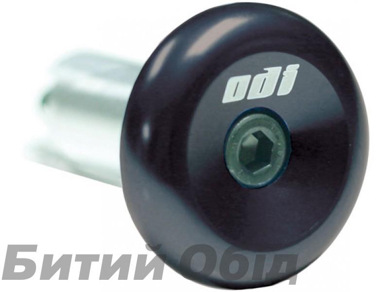 Баренды ODI Aluminium End Plugs w/ Lasered Logo Black (черные баренды)