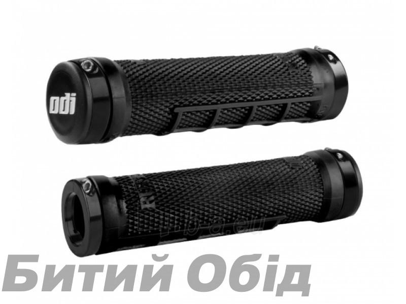 Грипсы ODI Ruffian MX MTB Lock-On Bonus Pack Black w/Black Clamps (черные с черными замками)