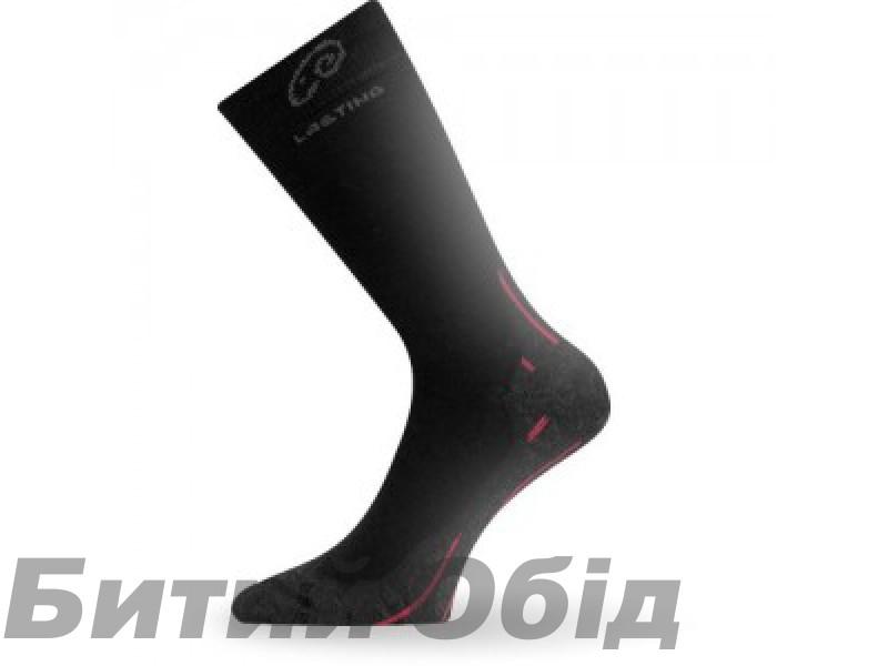 Термоноски трекинг Lasting WHI 900 L (42-45) черный