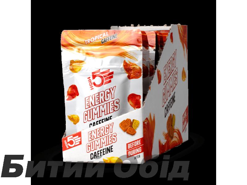 Жевательные конфеты High5 Energy Gummies Caffeine