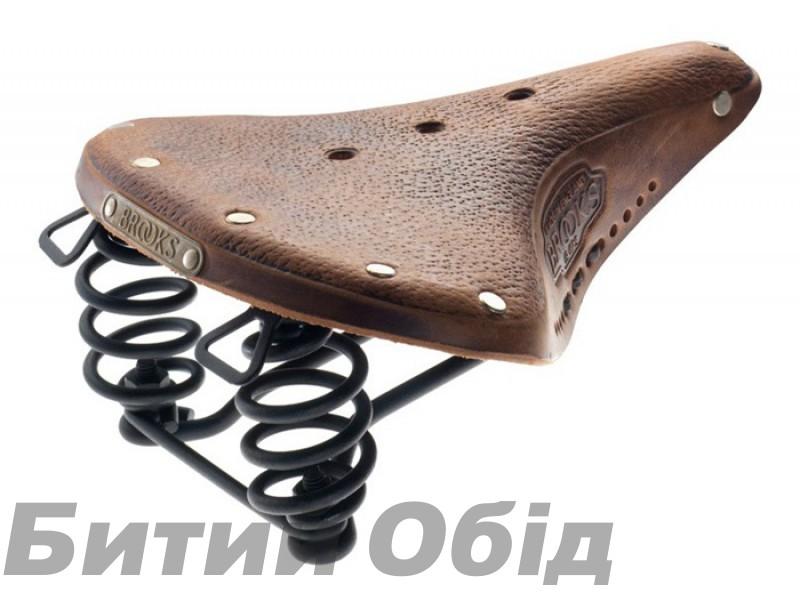 Седло BROOKS B67 SOFTENED Short