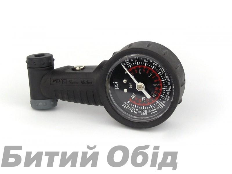 Манометр велосипедный GIYO GG-02 фото, купить, киев, запорожье