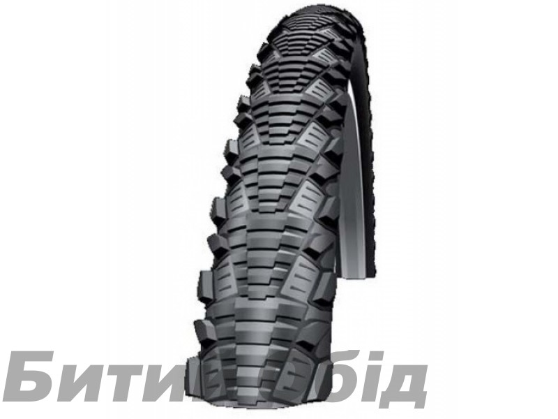 Покрышка Schwalbe CX COMP 26x2.00 (50-559) KevlarGuard B/B-SK HS369 SBC 50EPI