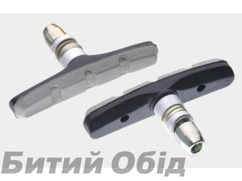 Тормозные колодки V-brake Sheng-An BSV-1GY-190BK фото, купить, киев, запорожье