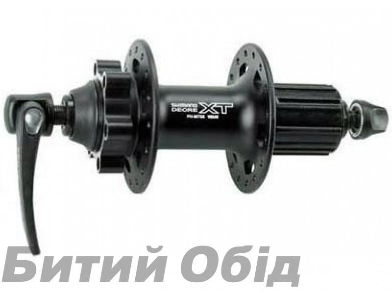 Втулка задняя Shimano FH-M756 DEORE XT, для диск.торм 32сп., черн, для ротора на 6 болтов фото, купить, киев, запорожье