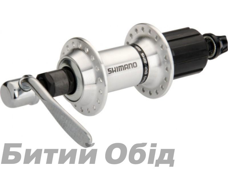 Втулка задняя Shimano FH-RM30, 36сп., 7-зв., серебр фото, купить, киев, запорожье
