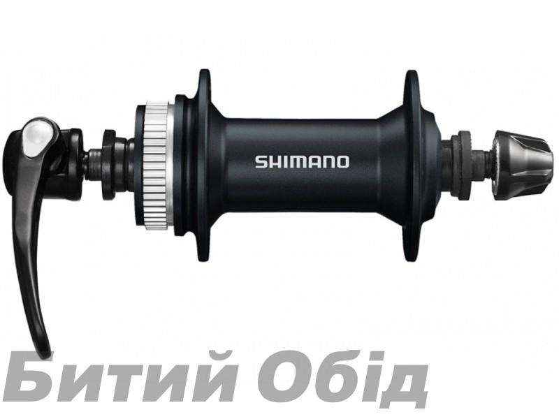 Втулка передняя Shimano HB-M4050, для диск торм, 36сп., черн, CENTER LOCK
