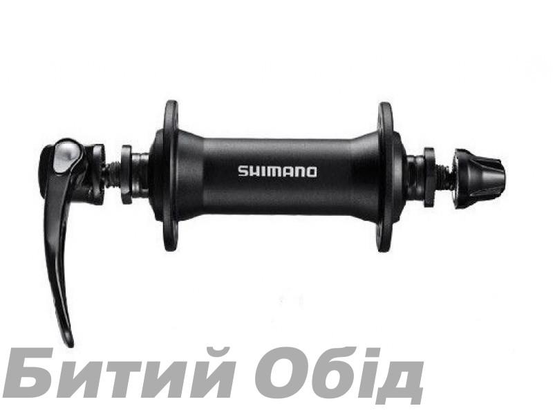 Втулка передняя Shimano HB-T4000, 32сп., черн
