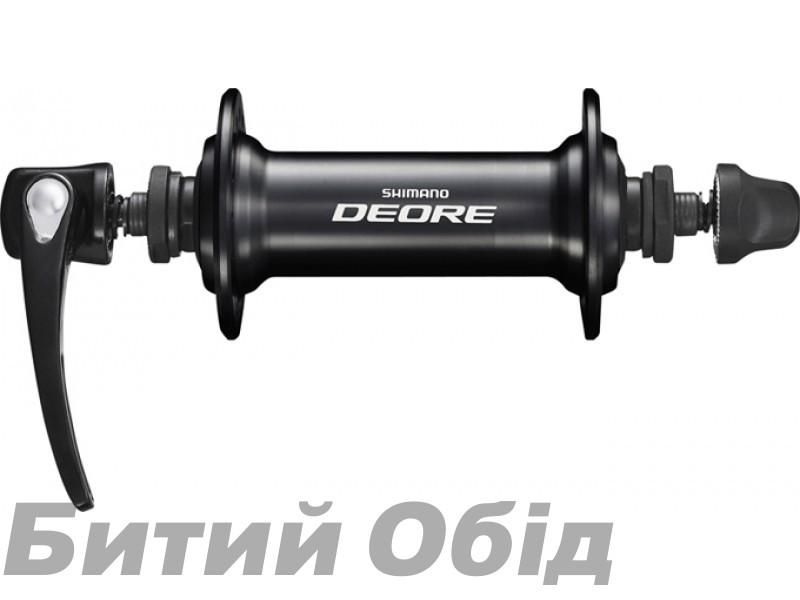 Втулка передняя Shimano НВ-T610, 36сп, черная