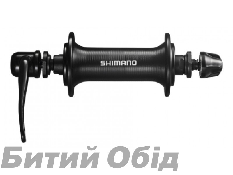 Втулка передняя Shimano HB-TX800 36сп, черн фото, купить, киев, запорожье