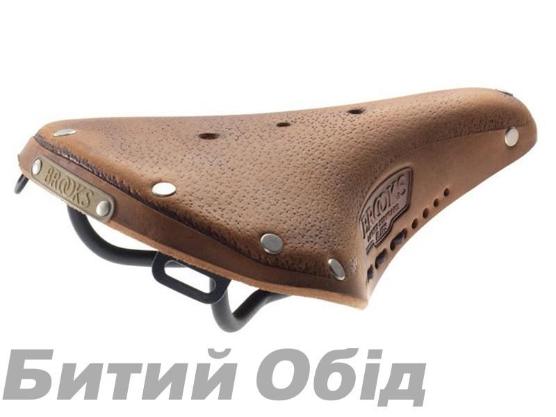 Седло BROOKS B17S AGED Standard Dark Tan фото, купить, киев, запорожье