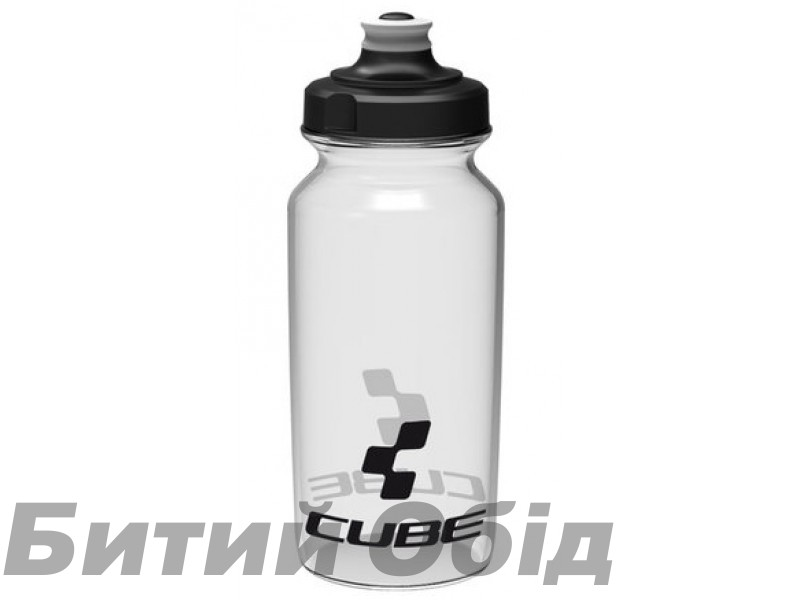 Велосипедная фляга Cube Bottle 500 ml Icon Transparent