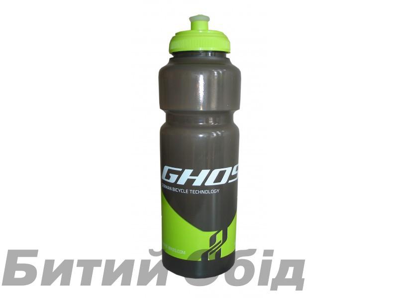 Фляга Ghost Water Bottle 0.75L black/lime green