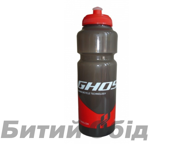 Фляга Ghost Water Bottle 0.75L black/red