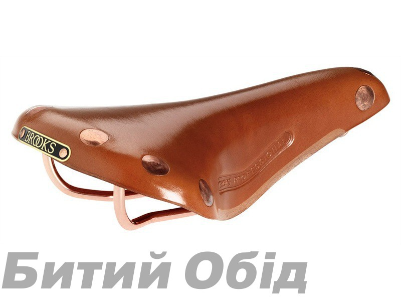 Седло BROOKS Team Pro Copper