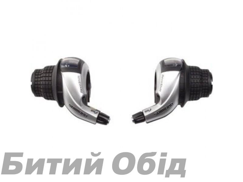 Шифтеры Shimano SL-RS45 3-7 скор + тросик, пара