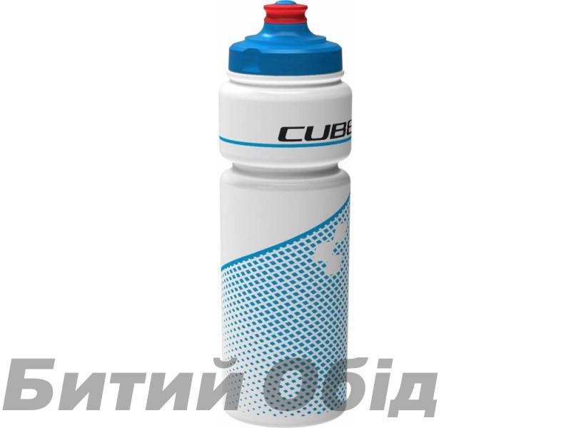 Велосипедная фляга Cube Bottle 750 ml (Teamline white´n´blue) фото, купить, киев, запорожье