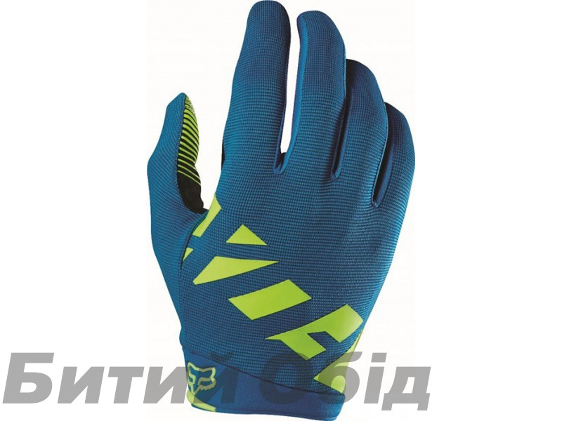 Вело перчатки FOX RANGER GLOVE [TEAL] фото, купить, киев, запорожье