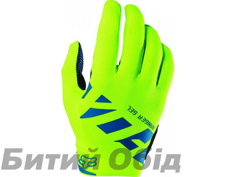 Вело перчатки FOX RANGER GEL GLOVE [FLO YLW] фото, купить, киев, запорожье
