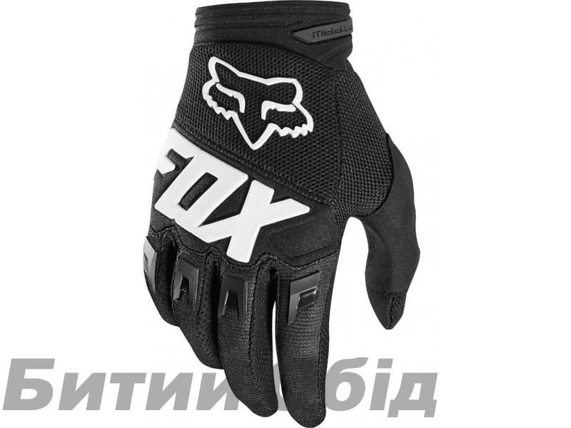 Вело перчатки FOX DIRTPAW RACE Glove черные фото, купить, киев, запорожье
