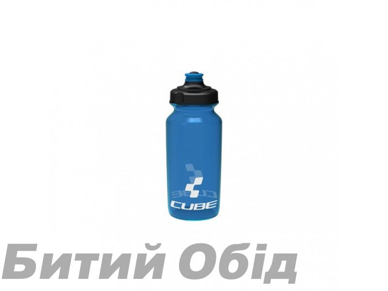 Велосипедная фляга Cube Bottle 500 ml Icon Blue фото, купить, киев, запорожье