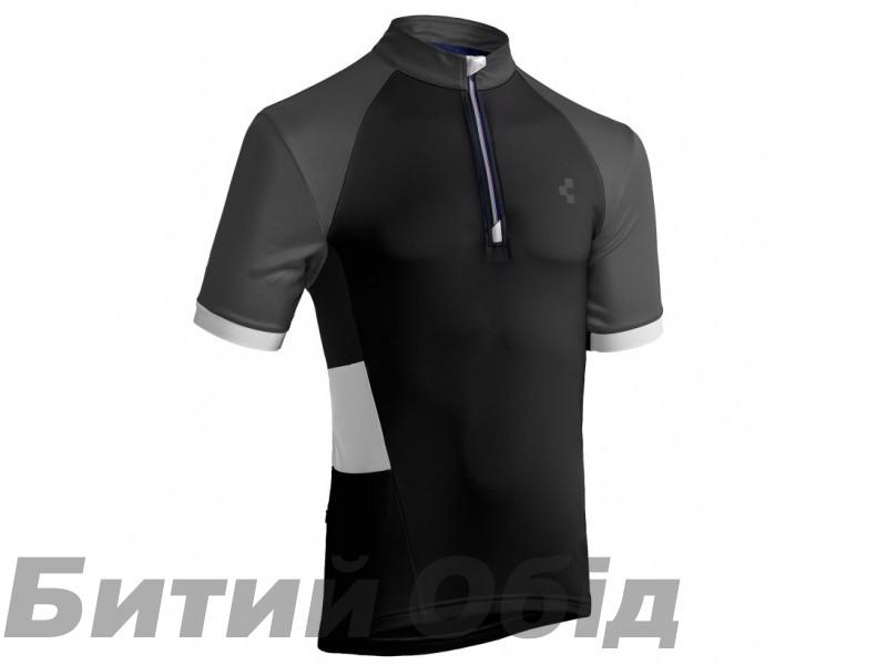 Велосипедная футболка CUBE Tour Trikot CHALLENGE kurzarm black фото, купить, киев, запорожье