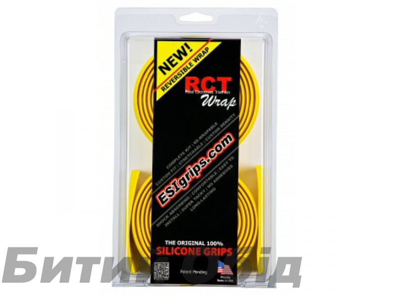 Обмотка руля ESI RCT Wrap Yellow (желтая) фото, купить, киев, запорожье