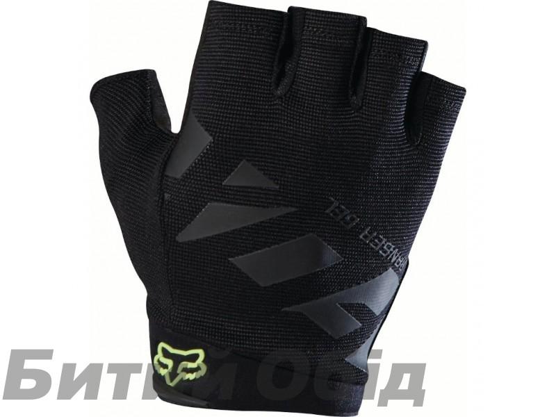 Вело перчатки FOX RANGER GEL SHORT GLOVE [BLK] фото, купить, киев, запорожье