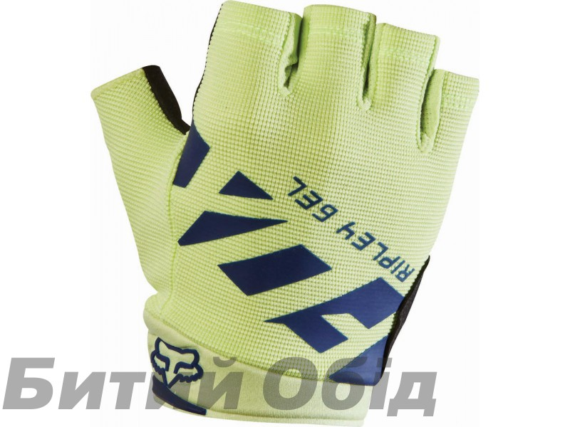 Вело перчатки FOX WOMENS RIPLEY GEL SHORT GLOVE [NVY/YLW] фото, купить, киев, запорожье