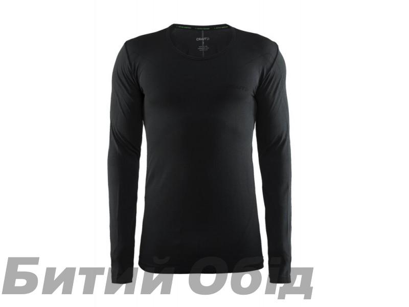 Мужская терморубашка CRAFT Active Comfort RN LS Man (1903716) black solid фото, купить, киев, запорожье
