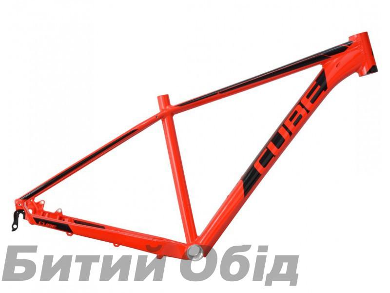 Велосипедная рама CUBE Aim SL red'n'black фото, купить, киев, запорожье
