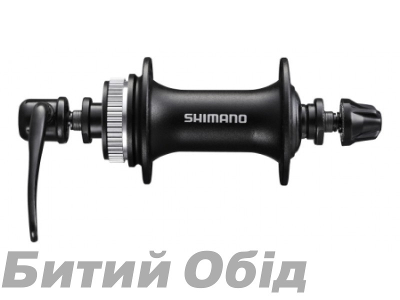 Втулка передняя Shimano HB-M3050, 32сп. черн, CENTER LOCK фото, купить, киев, запорожье