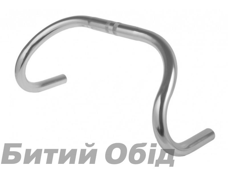 Руль UNO Шоссе/Трековый CM-31 380mm (silver) фото, купить, киев, запорожье