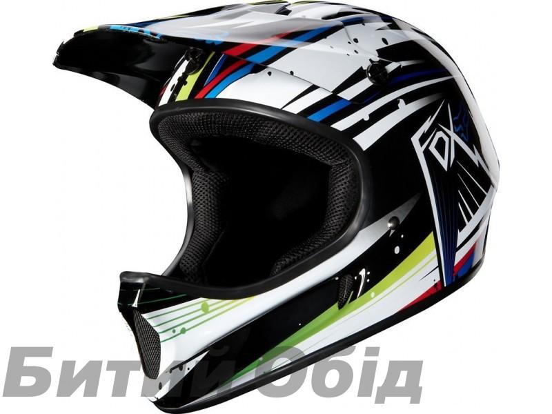 Rampage Helmet бело-синий, размер XL фото, купить, киев, запорожье
