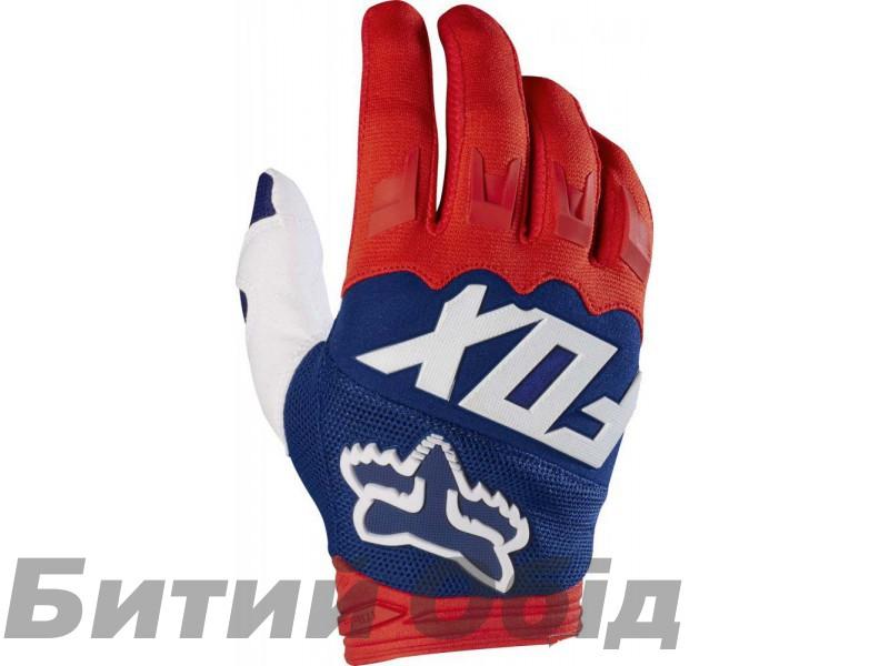 Вело перчатки FOX DIRTPAW RACE Glove красно-синие фото, купить, киев, запорожье