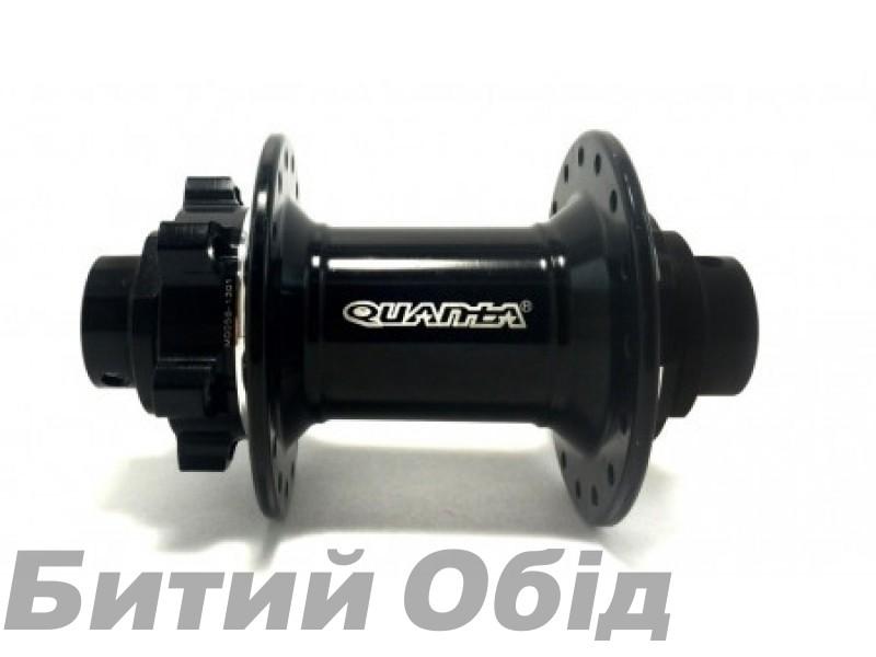 Втулка передняя Quanta KT-TW2F 32H Disk-20мм (Черн) фото, купить, киев, запорожье