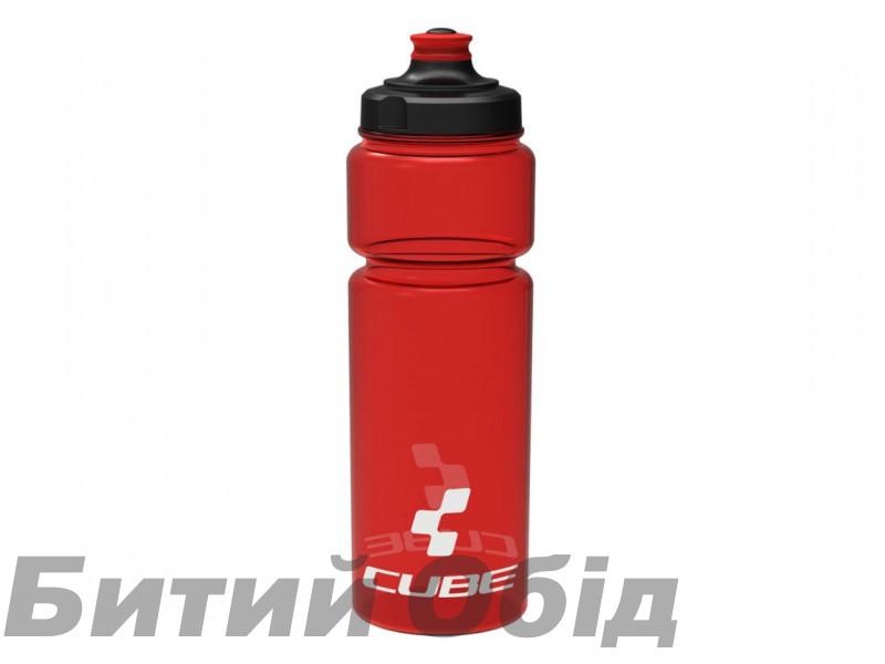 Велосипедная фляга Cube Bottle 750 ml icon red фото, купить, киев, запорожье