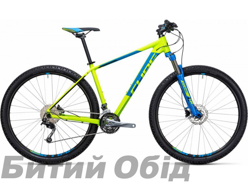Велосипед Cube Aim SL 29 (kiwi blue) 2017 год