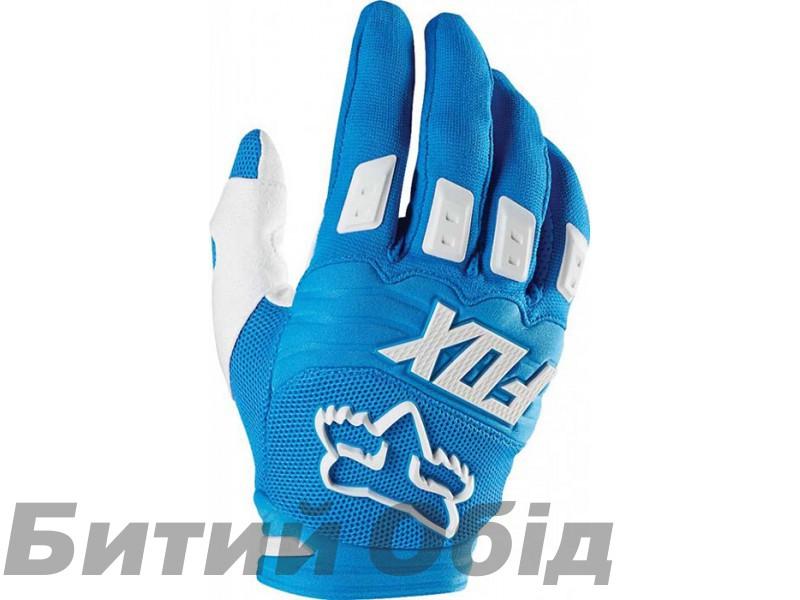 Вело перчатки FOX DIRTPAW RACE Glove синие фото, купить, киев, запорожье