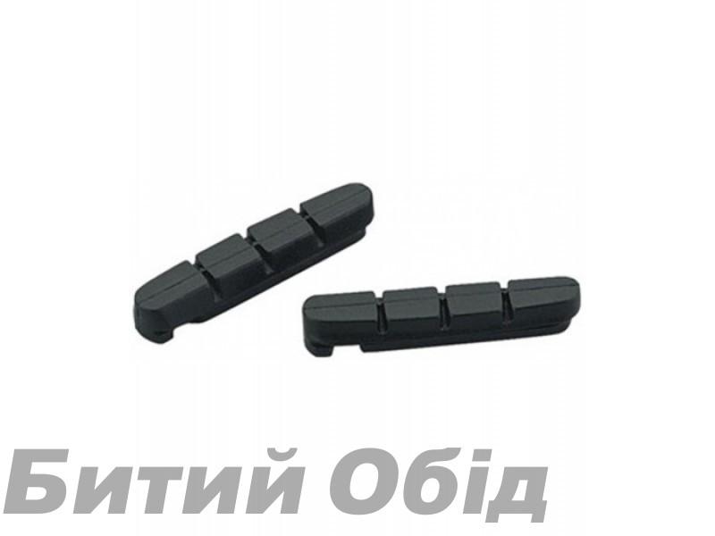 Вставки в колодки торм шос. v-br JAGWIRE Road Pro S DRY JS453RPS-(совм. с Shimano, SRAM) желт-черн фото, купить, киев, запорожье