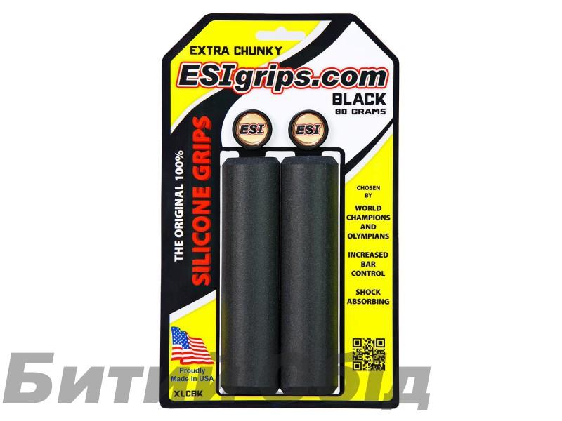 Грипсы ESI Extra Chunky Black (черные) фото, купить, киев, запорожье