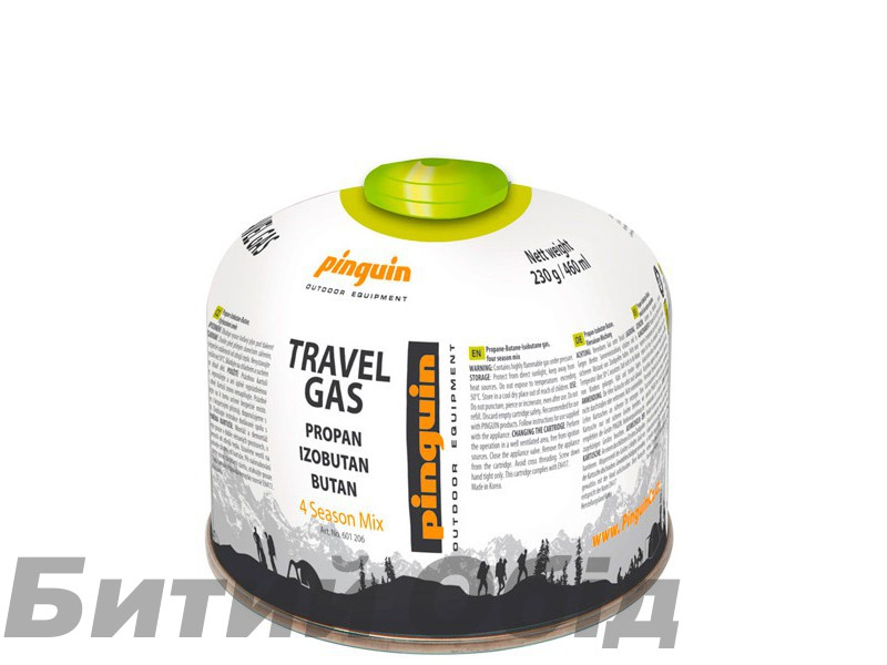 Газовый баллон Pinguin 230 g