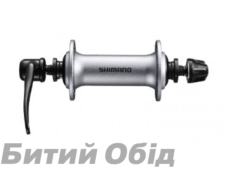 Втулка передняя Shimano HB-T3000, 32сп, серебр. фото, купить, киев, запорожье