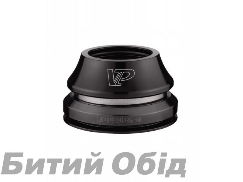 Рулевая колонка 1-1/8″ 1-1/2″ VP VP-B402AC (15mmx46) конусная, интегрир., d 28.6/41.8–51.8/39.8, подшипники промышленные, алюмин., анодировка фото, купить, киев, запорожье