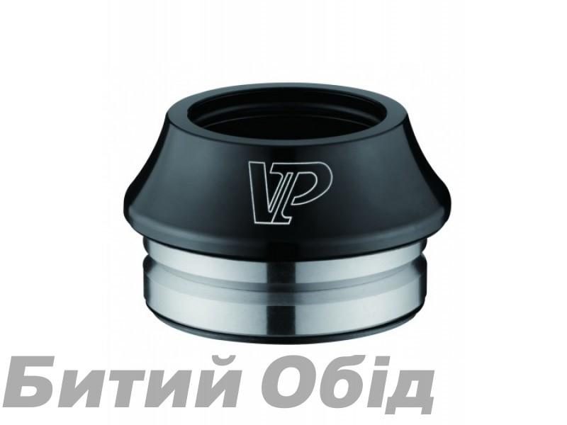 Рулевая колонка 1-1/8 VP VP-F202AC интегрир., d 41.8mm, алюмин., анодировка черная фото, купить, киев, запорожье