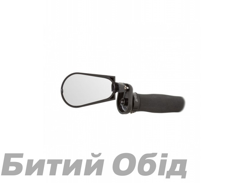 Зеркало Green Cycle DX-2280S складное (крепление в торец руля) фото, купить, киев, запорожье