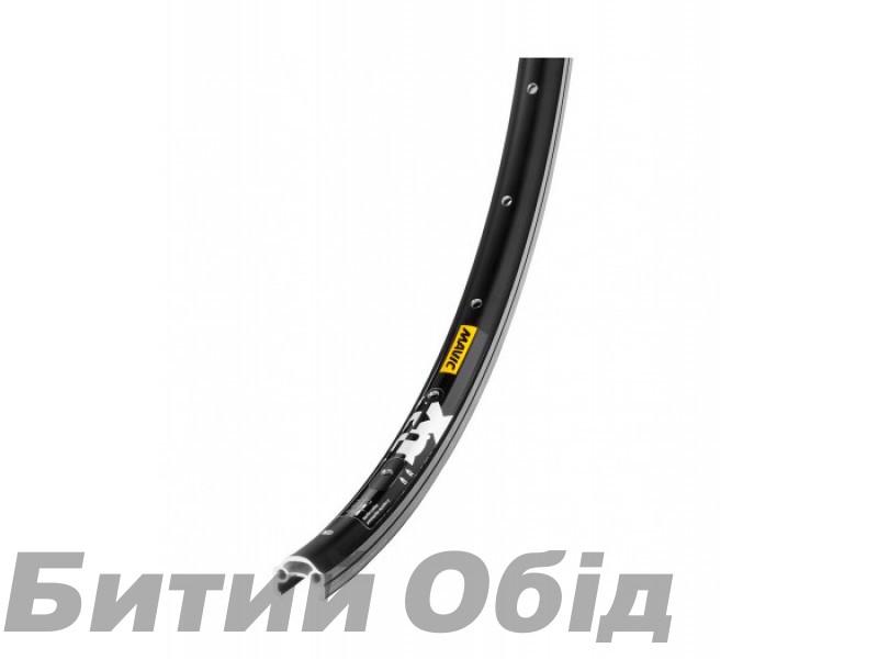 Обод Mavic XM 117 32H 26 не пистонированный, под ободной тормоз черный фото, купить, киев, запорожье