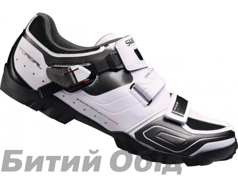 Велообувь Shimano M089-W, белые/черн